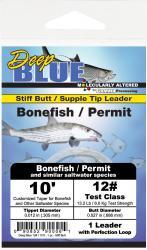 Deep Blue Bonefish/Permit Leader 10 ft - 20 Bonefish/Permit 10 ft - 20