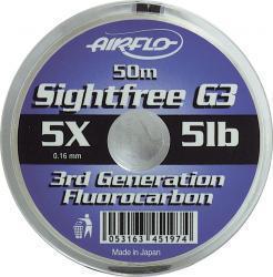 SIGHTFREE G3 FLUOROCARBON 50m Spule