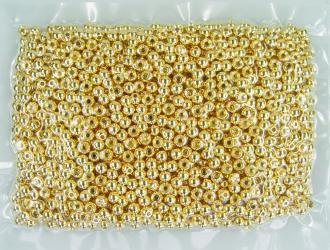 Tungsten Kopfperlen gold (Bulk 1000)