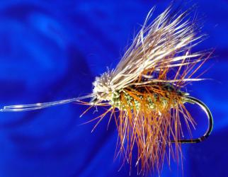 Irresist. Caddis Olive