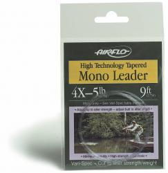9' Hi-Tec Tapered Mono Leaders 9' -4X
