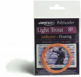 Airflo Indicator Polyleaders 8' Light Trout Floating 8'