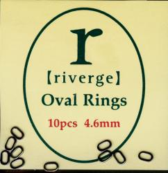 Tippet Rings oval 2x4.5mm Leader Rings oval 2x4.5mm