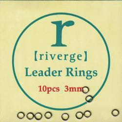 Tippet Rings round Leader Rings round 1,5mm