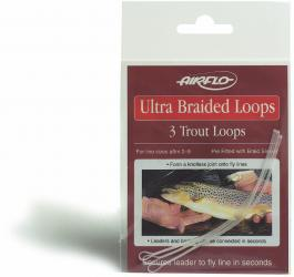 ULTRA BRAIDED LOOPS Ultra Braided Trout (3 Stück)
