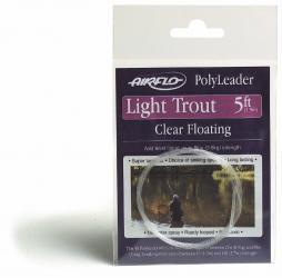 Airflo Polyleader Light Trout 5' hover 5'